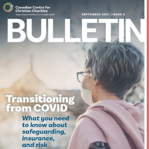 picture of bulletin cover with logo