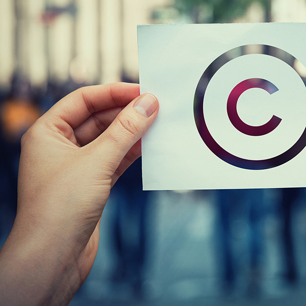 Picture of copyright symbol