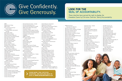 Certified charities
