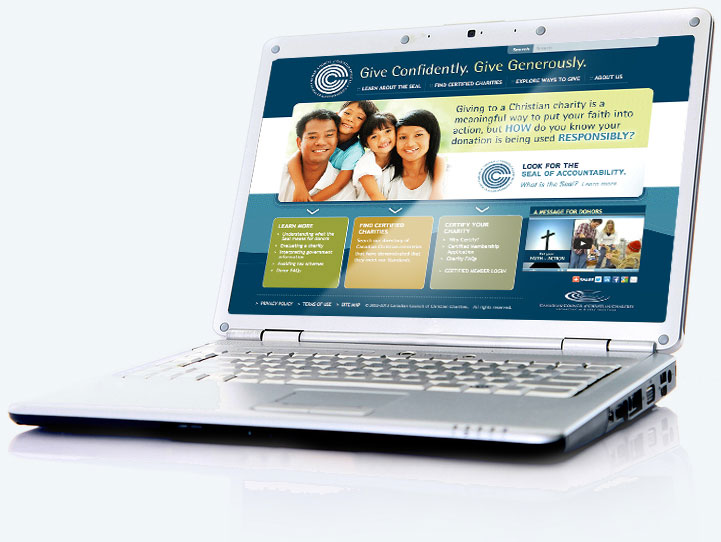 Certified charities website