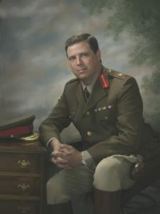 John as Arthur Currie