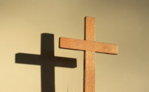 Cross and shadow