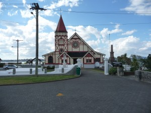 St Faith's Anglican church, Ohinemutu (Lake Rotorua)