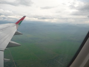 Berundi from the air