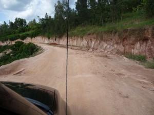 Dirt road in Kigali
