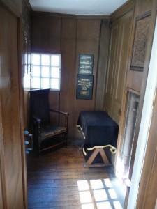 John Knox's former bedroom