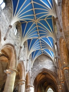 ceiling of St. Giles