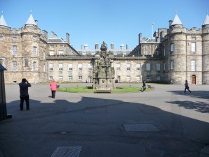 Holyroodhouse exterior