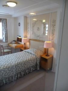 Queen Elizabeth's bedroom
