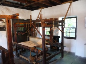 A loom from late 18th century