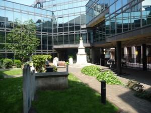 John Wesley's grave
