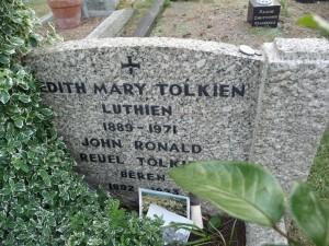 J.R.R. Tolkien's grave