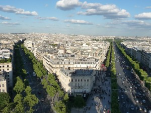 View of Paris