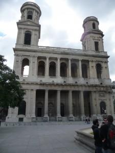Exterior of St. Sulpice, Paris