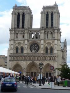Exterior of Notre Dame