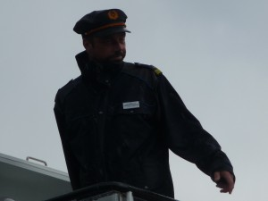 Captain of the boat