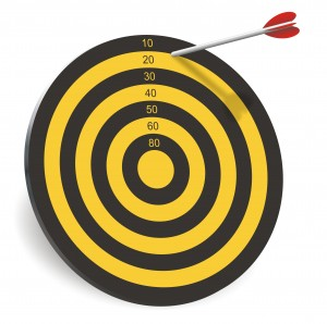 An off-target arrow