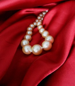 Photo of a string of pearls