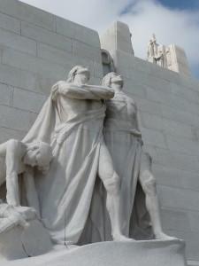 Vimy statuary