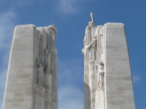 Vimy Memorial statuary