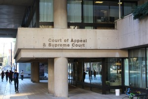 Entrance to the British Columbia Court of Appeal