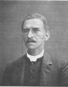 Picture of Rev. Grimke, who gave a sermon about how his church responded to the Spanish Flu epidemic.